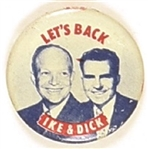 Lets Back Ike and Dick Jugate