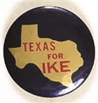 Texas for Ike State Set Pin