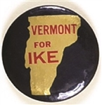 Vermont for Ike State Set Pin