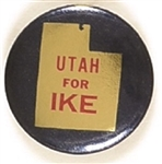 Utah for Ike State Set Pin