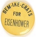 Dem-Ike-Crats for Eisenhower