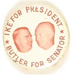 Eisenhower, Butler Maryland Coattail
