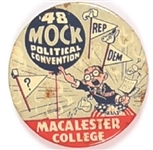 Truman Related Macalester College Mock Convention