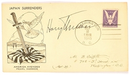 Truman Signed World War II Cover