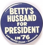 Bettys Husband for President Feminist Caucus