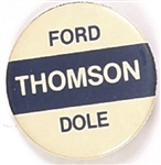 Ford, Dole, Thomson New Hampshire Coattail