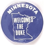 Dukakis, Minnesota Welcomes the Duke