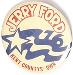 Jerry Ford Kent Countys Own