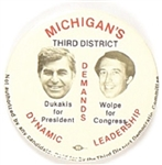 Dukakis, Wolpe Michigan Coattail