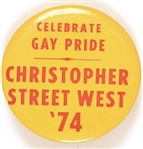 Gay Pride Christopher West '74
