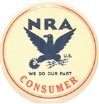 NRA Consumer Scarce Larger Size We Do Our Part Pin