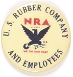NRA U.S. Rubber Co. Pin