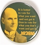 Stein Green Party, Eugene Debs