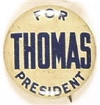 Thomas for President Socialist Party