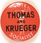 Thomas and Krueger 1940 Socialist Party