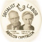 Hass, Cozzini Socialist Labor Party Jugate