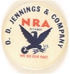 NRA D.D. Jennings and Co.