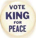 Vote King for Peace