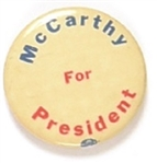 McCarthy for President Celluloid