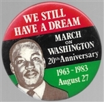 King We Still Have a Dream