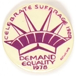 Demand Equality 1978 Celluloid