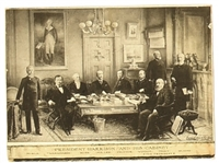 Benjamin Harrison and Cabinet Card