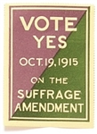 Vote Yes on the Suffrage Amendment Stamp