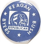 Reagan, Bush, Byers Tennessee Coattail