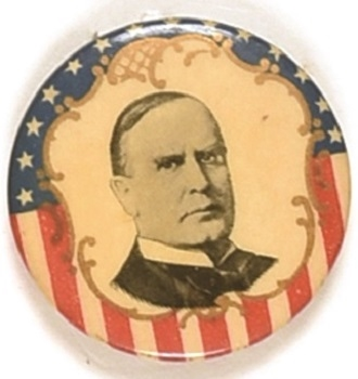 McKinley Stars, Stripes and Filigree