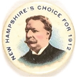 Taft New Hampshires Choice for 1912