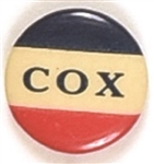 Cox Small Red, White, Blue Celluloid