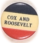 Cox and Roosevelt RWB Celluloid