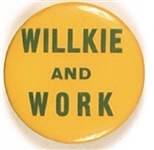 Willkie and Work