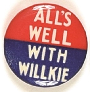 All's Well With Willkie