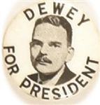 Dewey for President Picture Pin