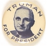 Truman for President Rare Picture Pin