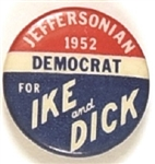 Jeffersonian Democrats for Ike and Dick