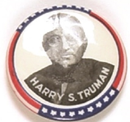 Truman Stars and Stripes Celluloid
