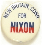 New Britain, Conn., for Nixon