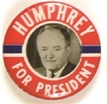 Humphrey for President Picture Pin