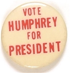 Vote Humphrey for President