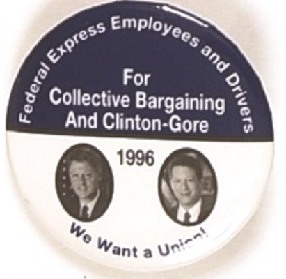Federal Express Employees for Clinton, Gore Jugate
