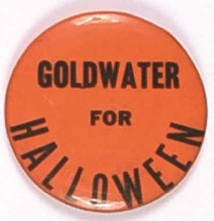 Goldwater for Halloween