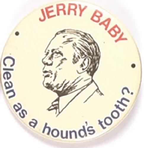 Ford, Jerry Baby Clean as a Hound's Tooth