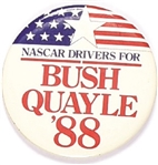 NASCAR Drivers for Bush, Quayle