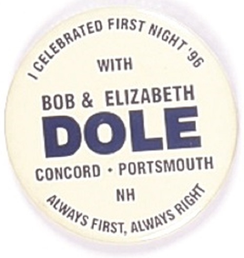 Dole New Hampshire First Night