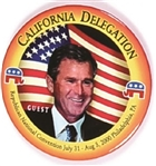 George W. Bush California Delegate