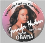 Obama, Jennifer Hudson Convention Pin
