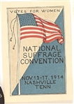 National Suffrage Convention, Nashville, Tenn., 1914 Stamp