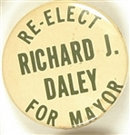 Re-Elect Richard J. Daley for Mayor of Chicago